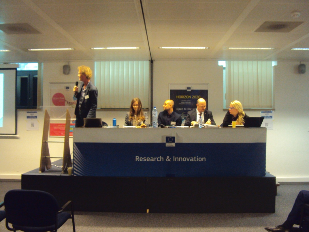Figure 2.  The session chairs and panelists of plenary session III on the Modeling of behavioural aspects