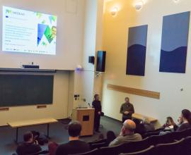 presentation at the Rutgers Energy Institute in New Brunswick