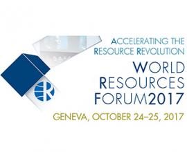 World Resources Forum 2017 Conference