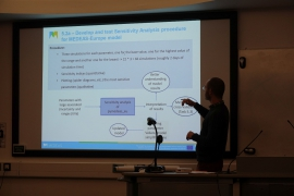Presentation at the last Medeas General Assembly
